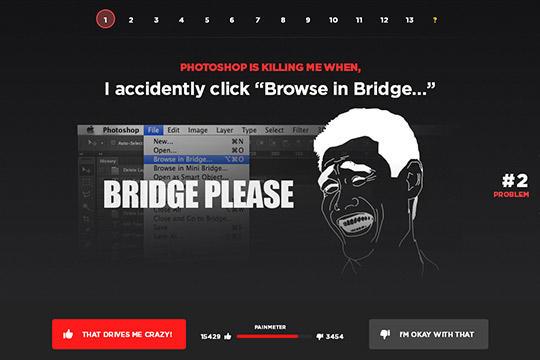 网站单页设计为什么这么火?